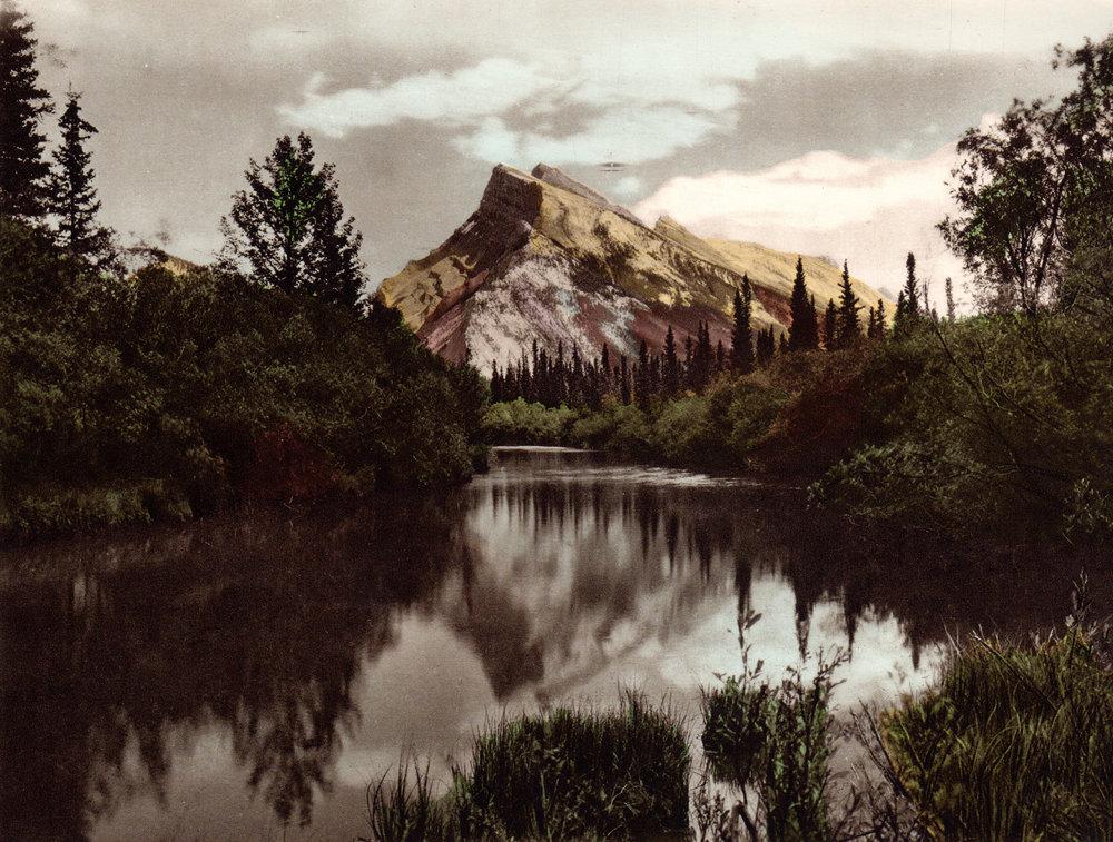 Canadian Rockies  (Byron Harmon photogravures, circa 1925)