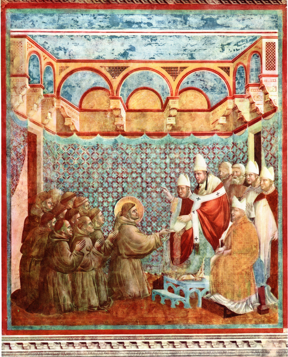 Giotto's Frescoes of Assisi (circa 1890)