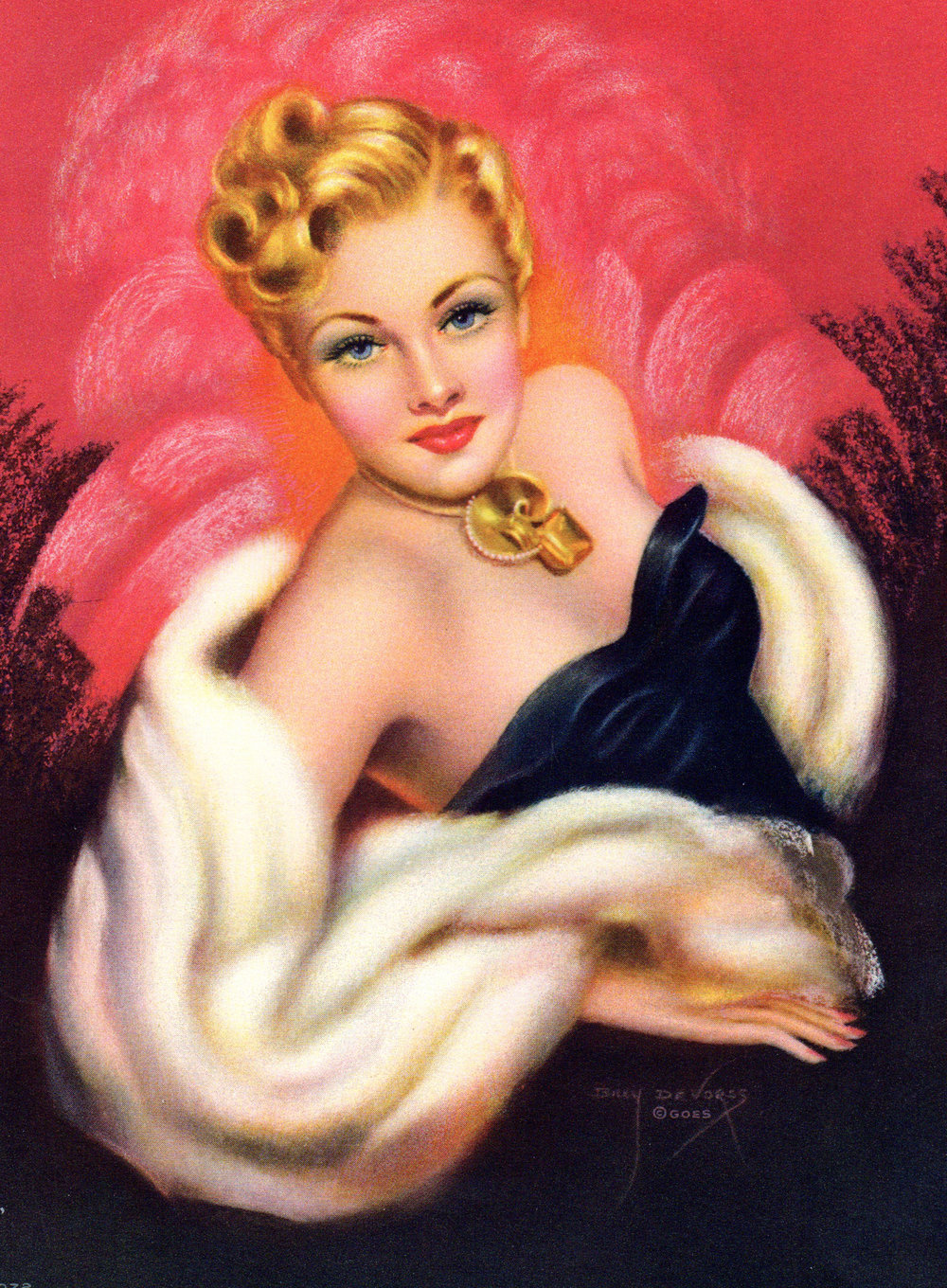 Pin-ups, Glamour Girls, Women, etc.