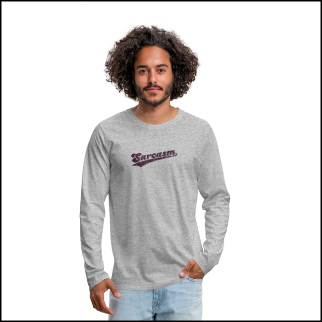 team sarcasm — long sleeve t-shirt  get it here:  spreadshirt