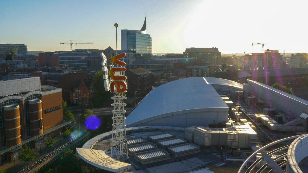 Vue, Reading, Drone