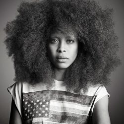 Erykah Badu - is a constant inspiration. Artist, musician mother, doula, healer, she refuses to be defined by any label or contained in any box anyone tries to squeeze her in - musically or otherwise. She is continuously evolving and expressing her bold unique creativity and isn't afraid of people not 'getting' it. What I respect about her the most is her ability to embody opposing identities and images at the same time, such as being spiritual and ratchet, with ease and she looking good doing it!@nehandasoul