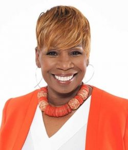 Iyanla Vanzant - I discovered her when I was in my mid twenties, I was going through a break up and the guy suggested that I read her book