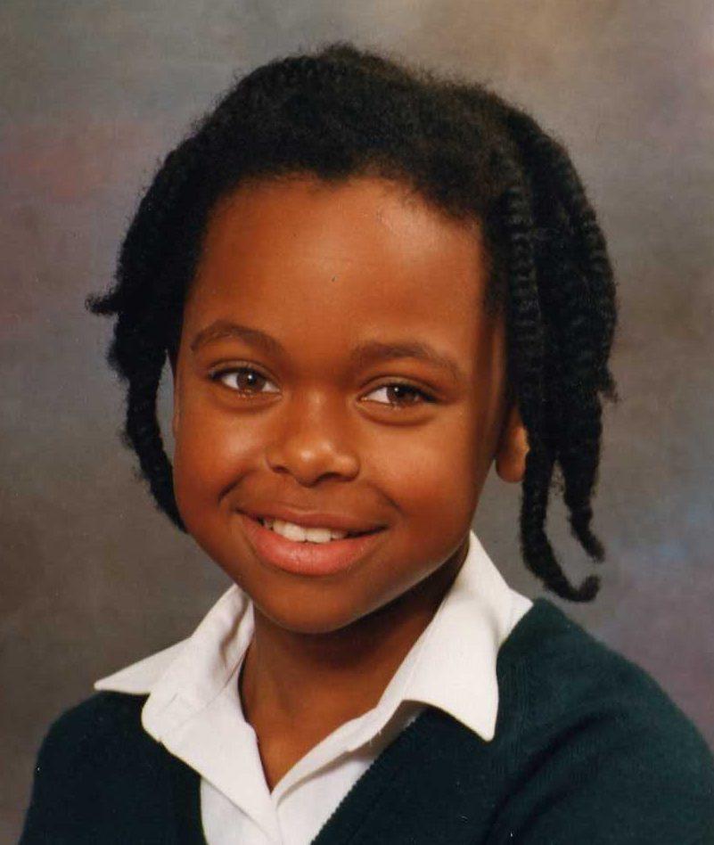 Childhood braid pic