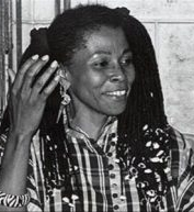 Assata Shakur - In my early 20s I read her autobiography and I understood, as much as you can from a book, revolution from a women's perspective. The fight, the reasons for sacrifice, knowing your history and not accepting your 2nd class status as a woman within the patriarchal state, your political affiliations ie; Black Panthers or friendship groups. She was proud of her hair, who she chose to be and the skin she was in. To me she was proud, intelligent, unapologetic and trying to affect change for all.@srosegregory