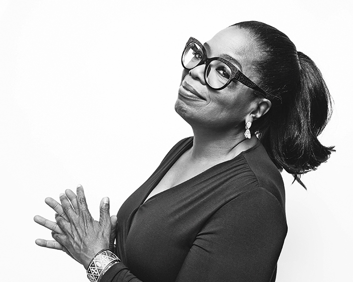 "Oprah Winfrey - ""Surround yourself with only people who are going to lift you higher""-"