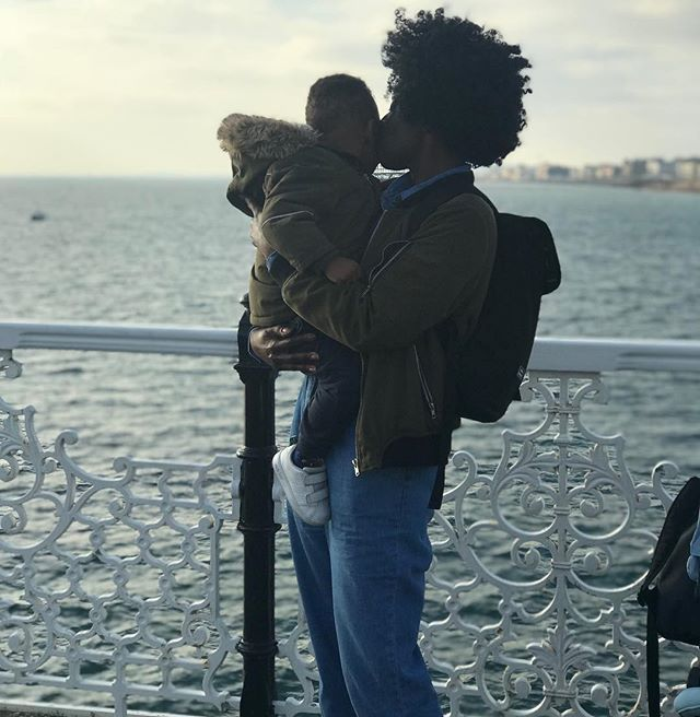 """ ""An aunt is a safe haven for a child. Someone who will keep your secrets and is always on your side"" - Sara Sheridan. - Being an aunt is one of the most magical experiences ever.  Baby booms you already know I'm ALWAYS on your side ❤️ - On another note a day out in Brighton is certainly not a cheap day out!!! But totally worth it xx #motherhoodreconstructed #auntygram"