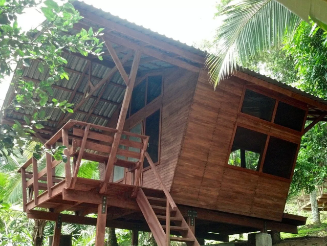 Beautiful jungle cabinas where you can plan to get the best sleep of your life!