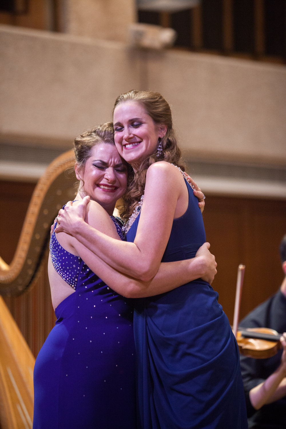 Ellie Jarrett-Shattles, mezzo-soprano, and Julia Taylor, soprano, and the Round Rock Symphony.