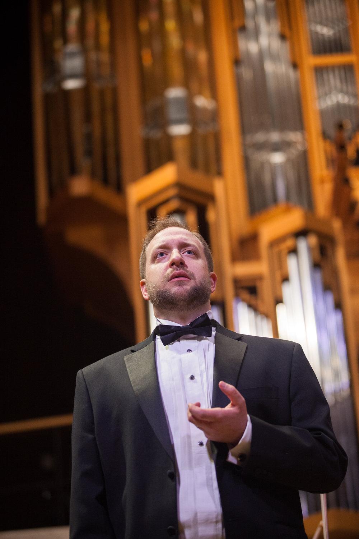 Benjamin Cox, baritone.