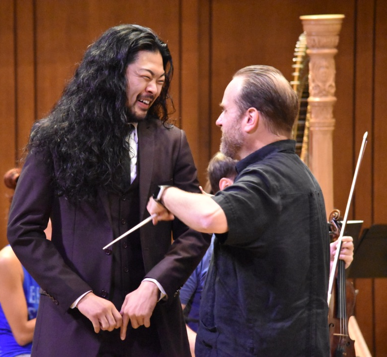Hidenouri Inoue -Bass with Stefan Sanders- Round Rock Symphony Conductor