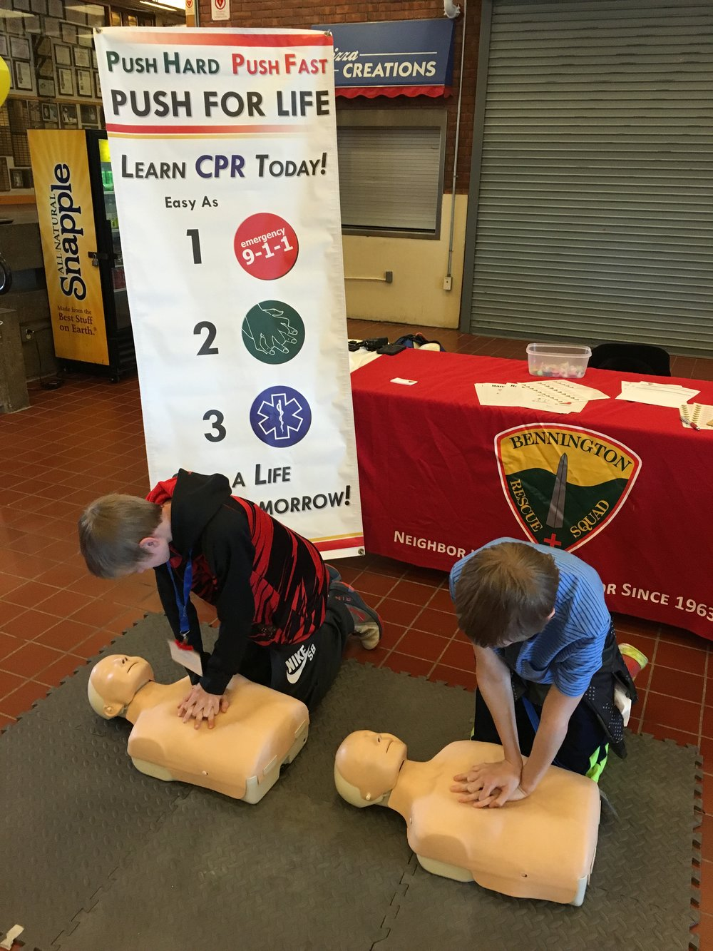 Cpr First Aid Bennington Rescue Squad