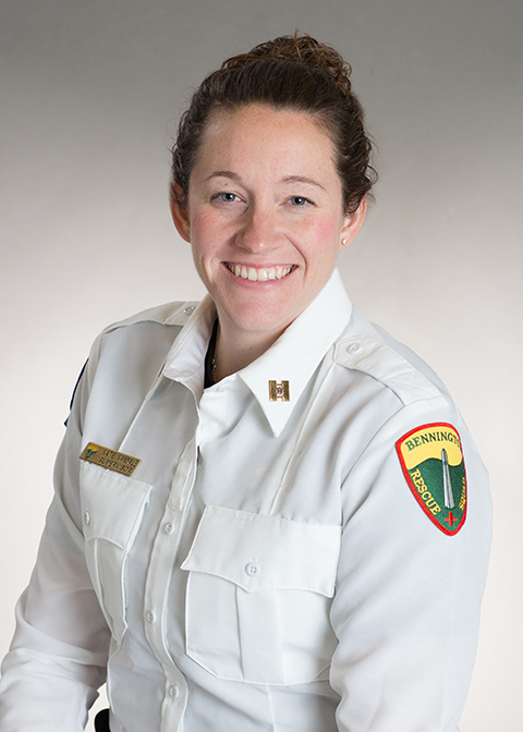 Katie Vandale, Captain, Paramedic