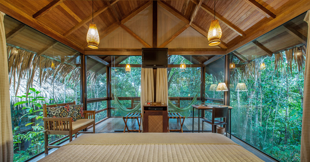 PACKAGE 3 - Panoramic with  PRIVATE BATH  Features: Private Bath, Ocean Views, Air Conditioning, Modern Suite, Queen Size Bed