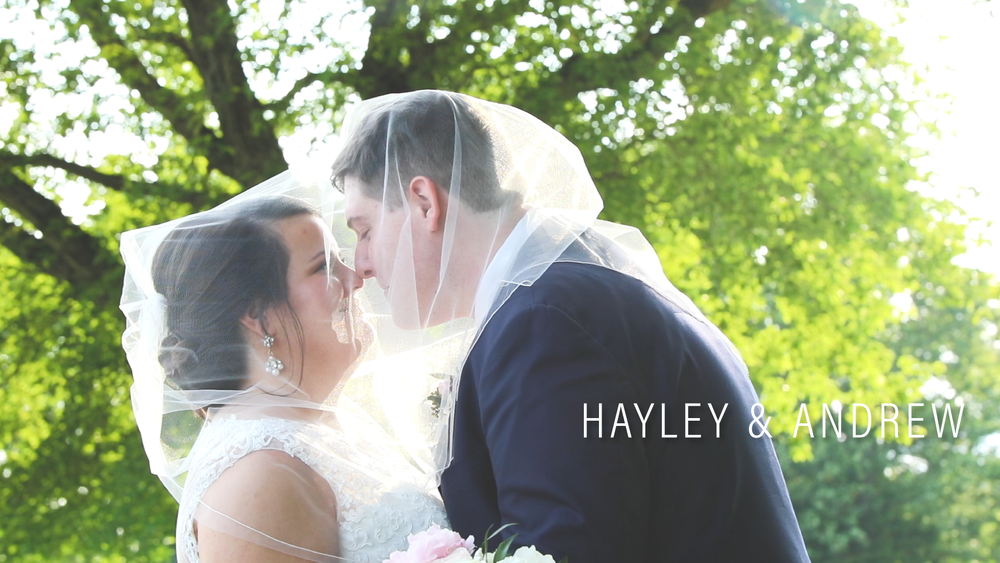 Hayley & Andrew Owen // Point200 Wedding Videography - NC Wedding Videographer