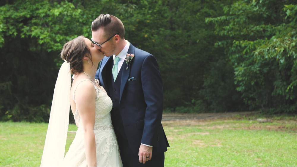 Ashley & James McDonald // Point200 Wedding Videography - NC Wedding Videographer