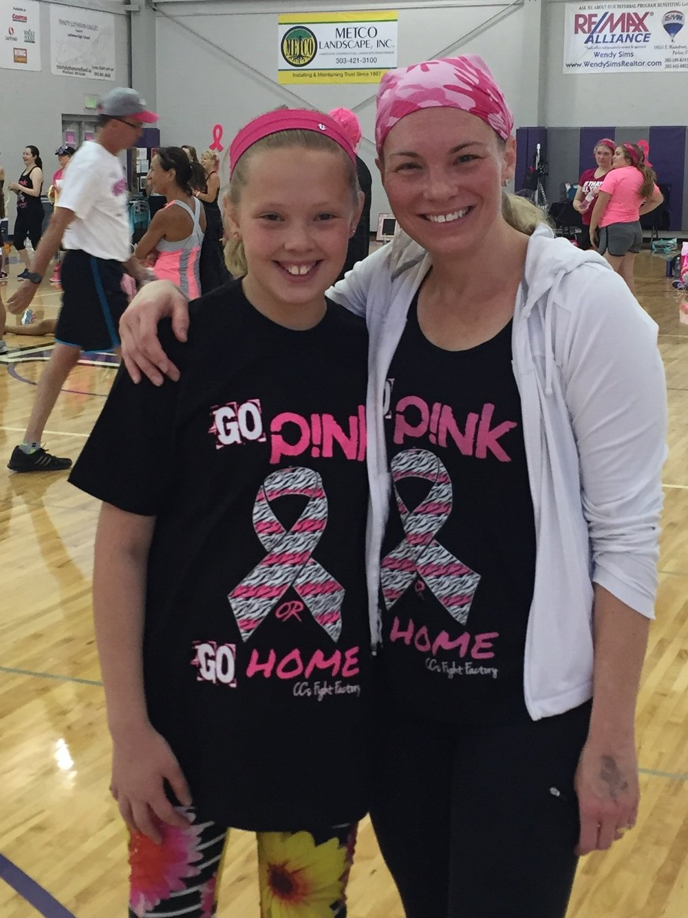 Mother-daughter date: Dancing for Breast Cancer Research