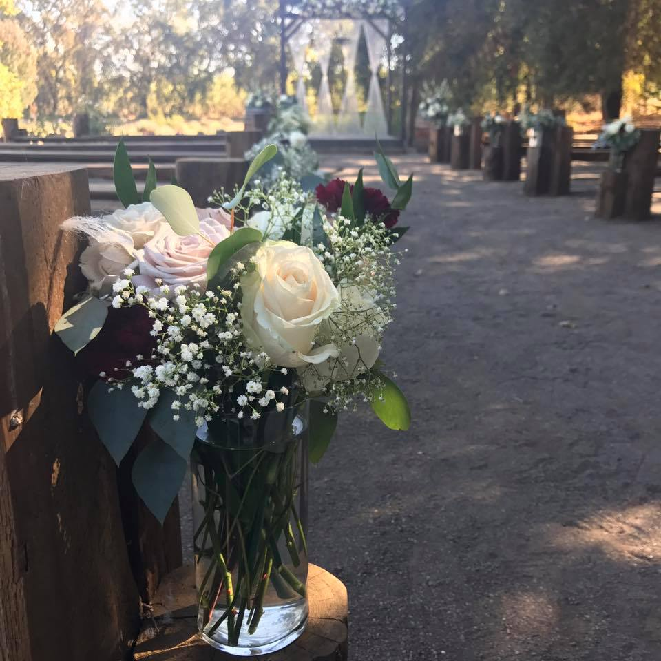 Bella Rosa Farms - If you are looking for a venue that is simply beautiful and relaxing all on it's own, book a venue tour at Bella Rosa Farms in Durham. Just a few moments outside of Chico you will feel like your are in your own oasis for your wedding day!