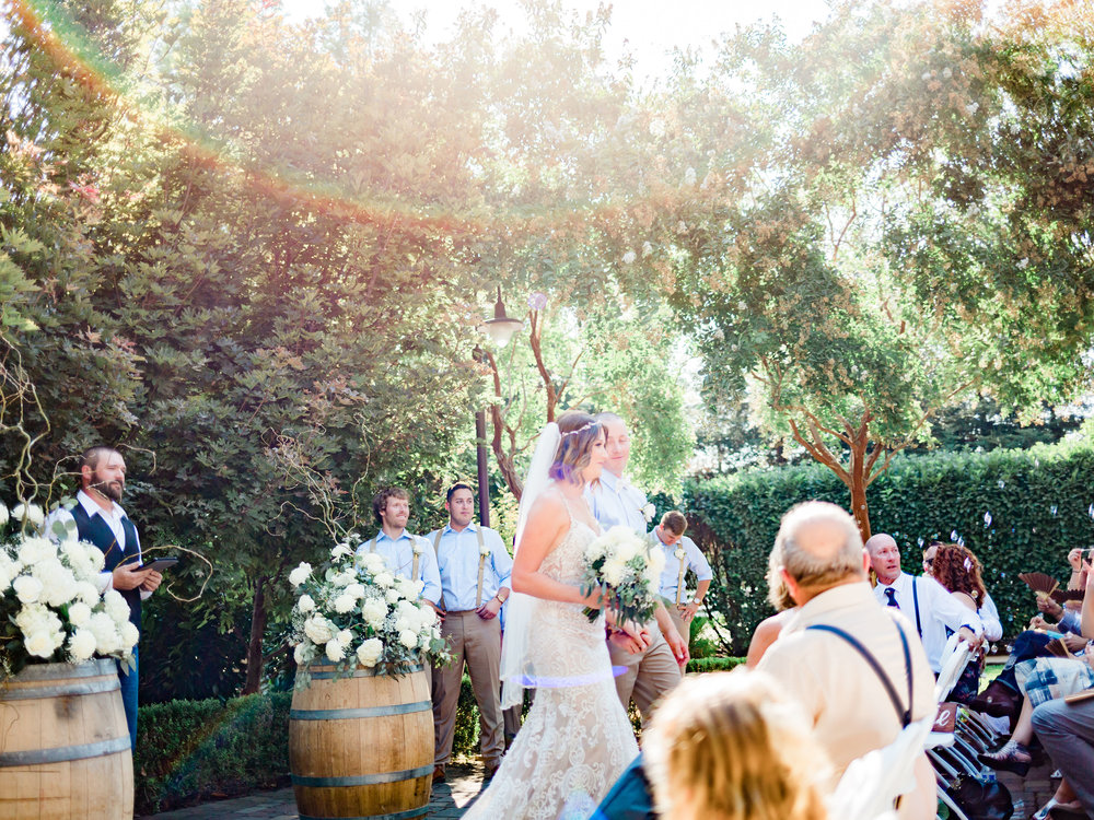 Iron Gate Garden Inn - New Venue!! The Iron Gate Garden Inn property is perfect for the outdoor wedding surrounded by beautiful greenery.  The onsite lodging for your wedding party or family makes for a relaxing weekend.