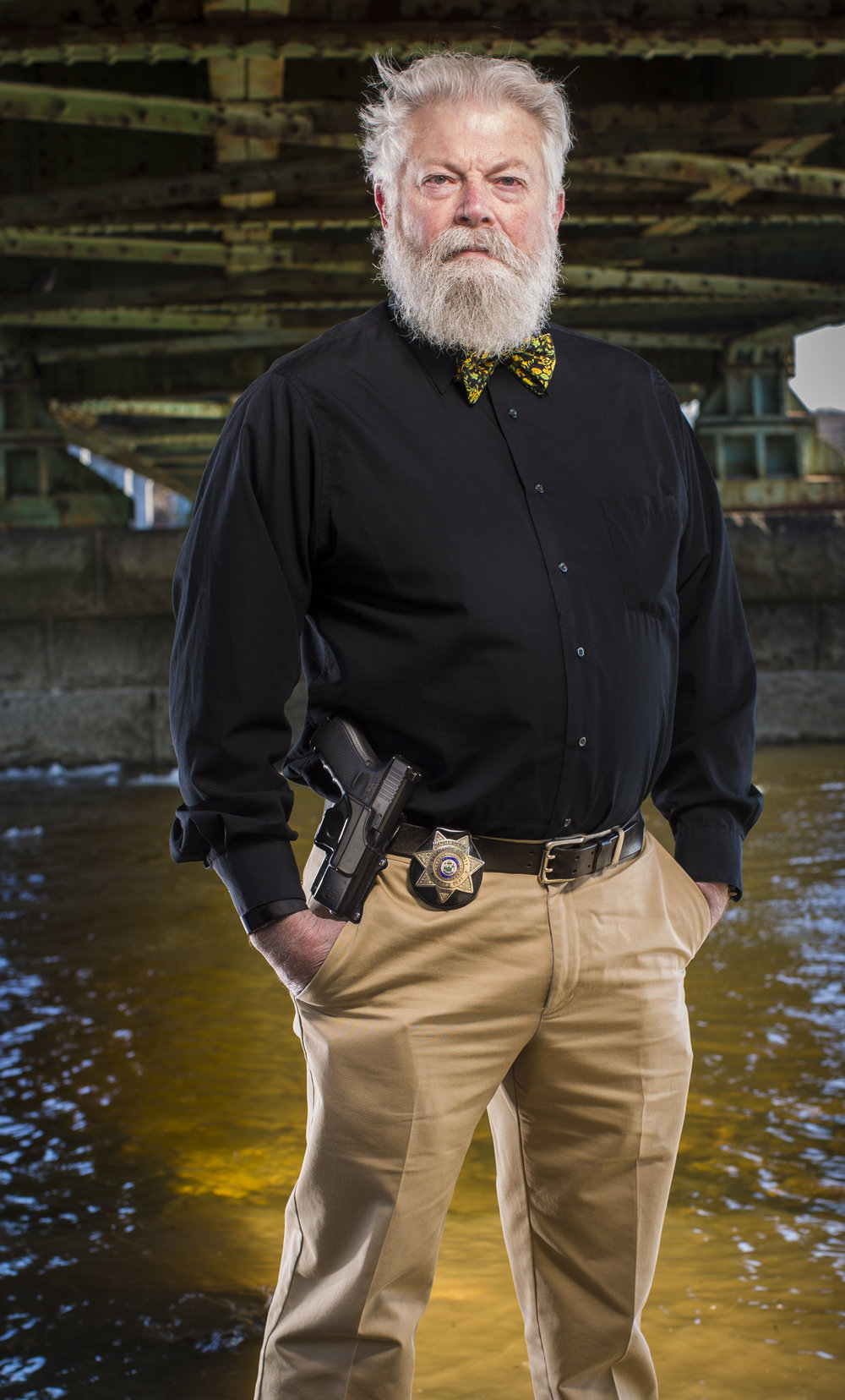 """Detective Steven Edmondson, 63, of Topsham, Maine. At a time when Maine is struggling to find young people who want to become police officers, Edmondson continues to work as a full time law enforcement officer, something he's done in Maine now for 42 years. Starting out at the Topsham Police Department, where he worked for 26 years, and has spent the last 16 years of his career serving as the Domestic Violence Investigator for the Sagadahoc County District Attorney's Office. """"I have remained in law enforcement for so long because I truly believe it has been a calling for me,"""" he said. """"Although the subject matter of my current position is highly objectionable, I do take pleasure in assisting victims of abuse and seeing offenders held accountable."""" Edmondson has been in Maine since he was 8, and has ancestral roots that go back 300 years in the Midcoast area of Maine."""