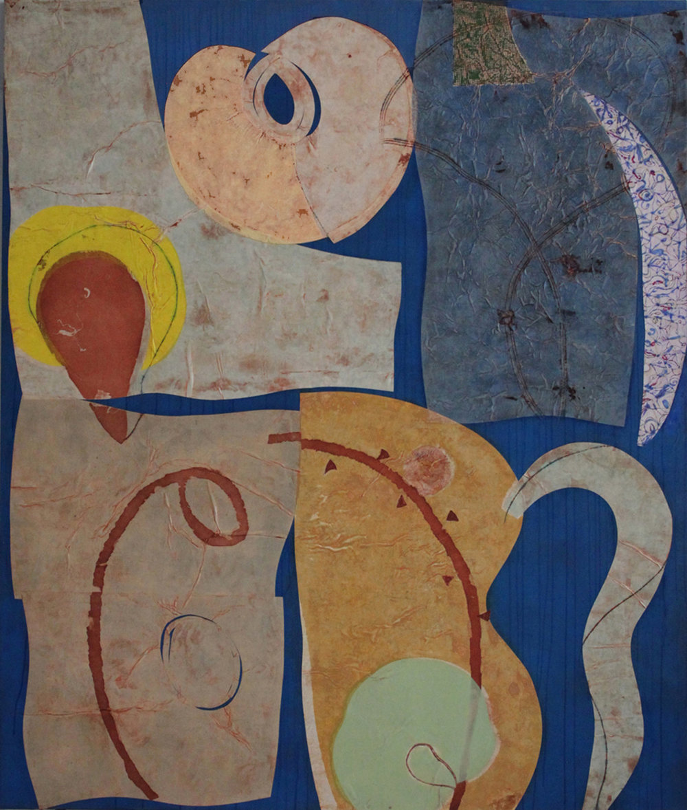 Afterglow 78x66 inches 198x168 cm oil on canvas