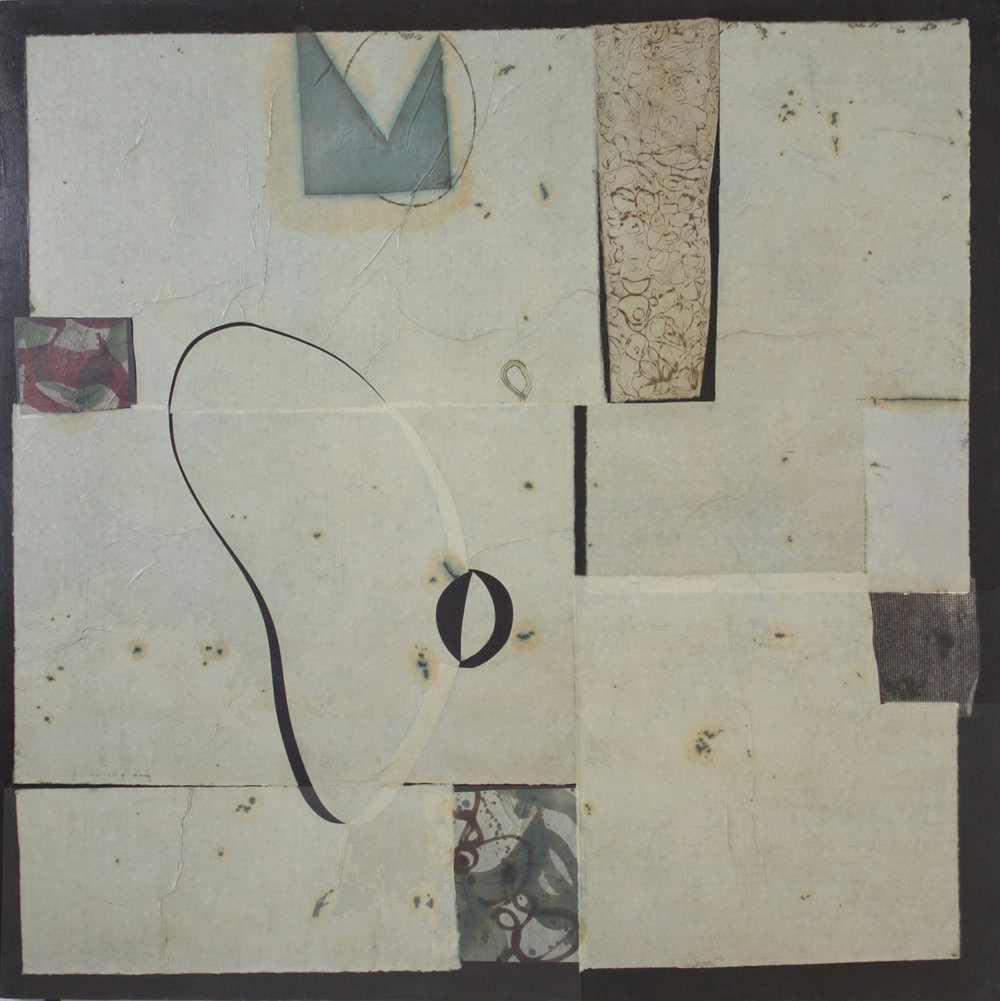 Epigram 37 oil on canvas 68x68 inches 173x173 cm