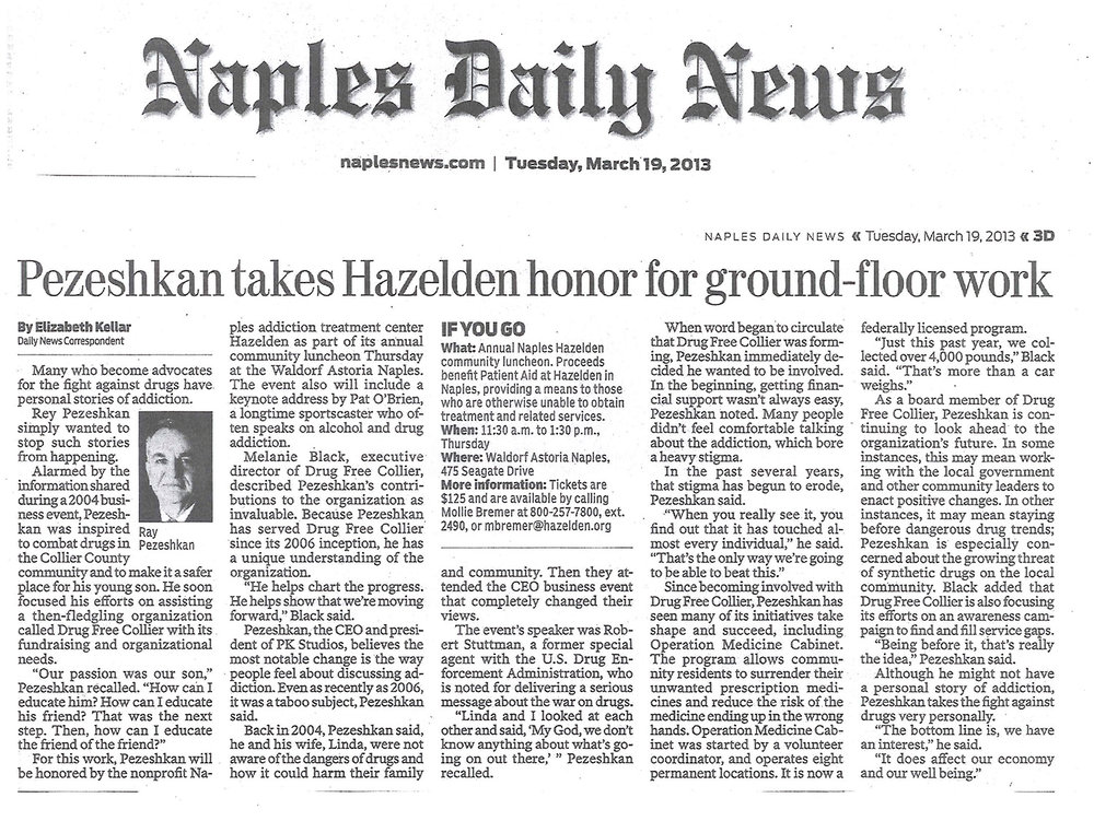 2013-03-19 Naples Daily News Hazelden Honor.jpg