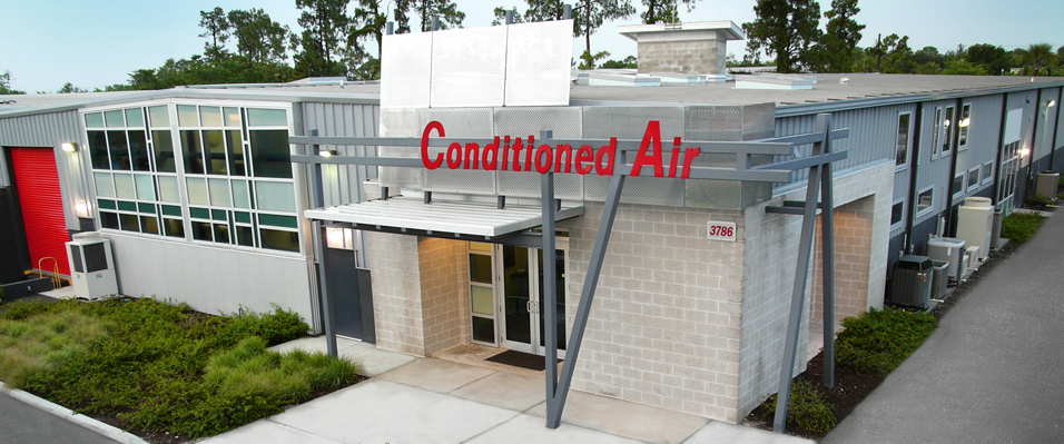 Conditioned Air Warehouse & Office