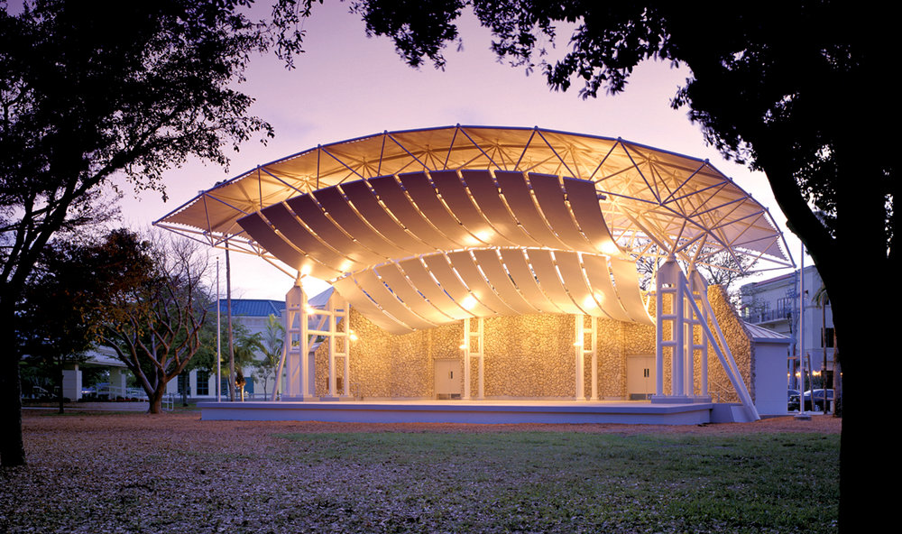 Cambier Park Band Shell