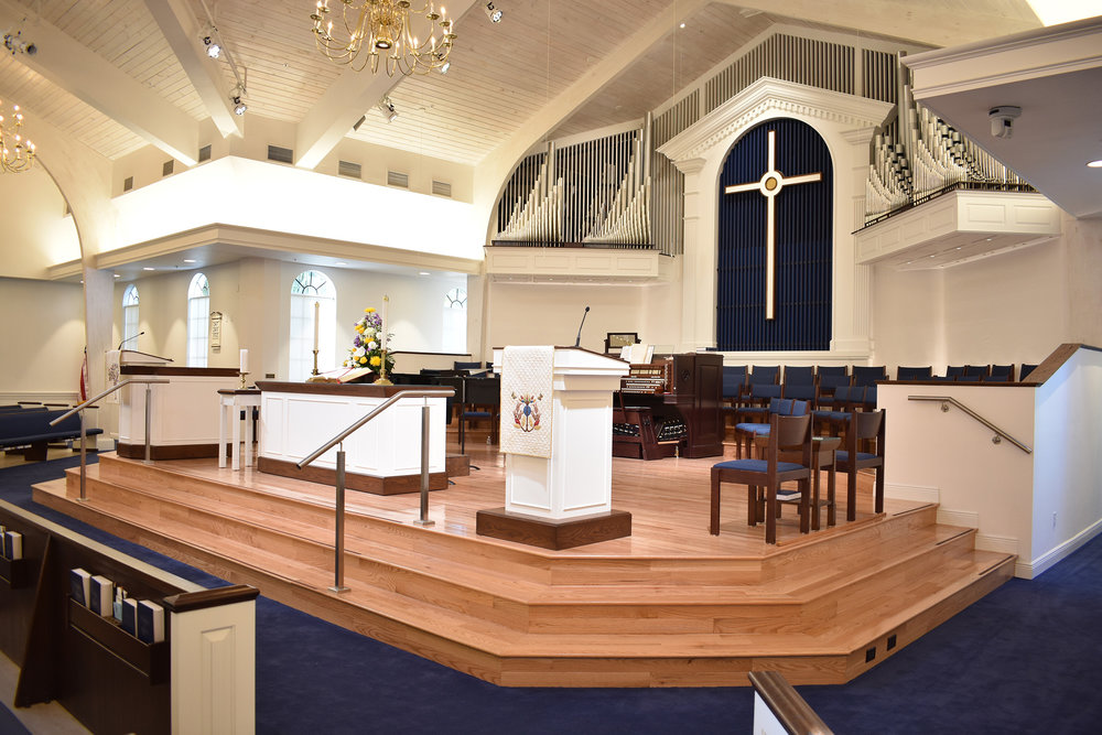 Naples United Church of Christ Renovation