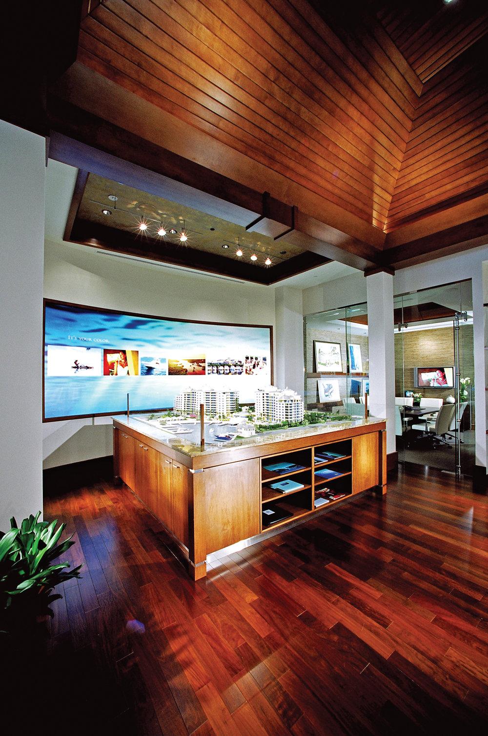 Aqua Sales Center