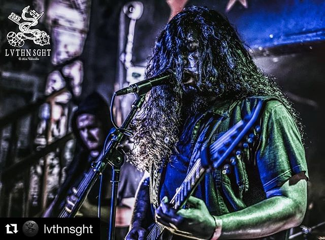 Fantastic shot from the very talented @lvthnsght from our performance last Friday with @gravegnosisofficial @beliathofficial666 #Repost @lvthnsght with @get_repost ・・・ One of our better LA black metal bands we have, @imperialist_official brought their intricate black metal riffs to the @gravegnosisofficial show this past weekend.