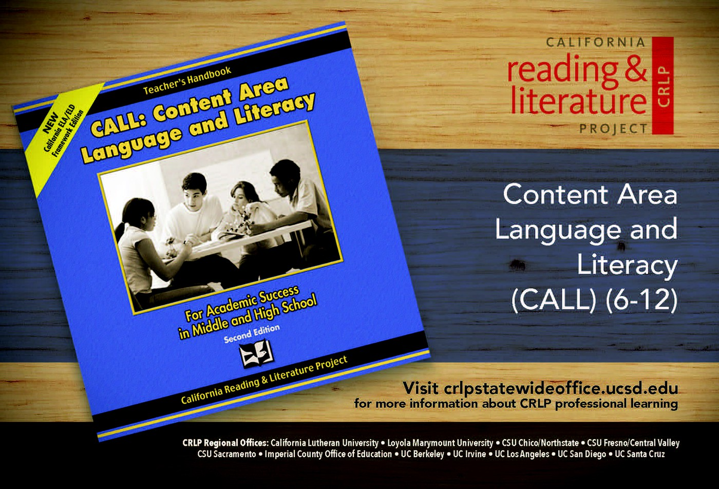 Content Area Language and Literacy (CALL) — California Reading