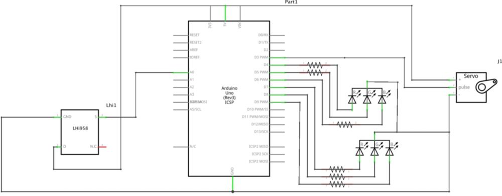 Figure 1. Responsive album schematic
