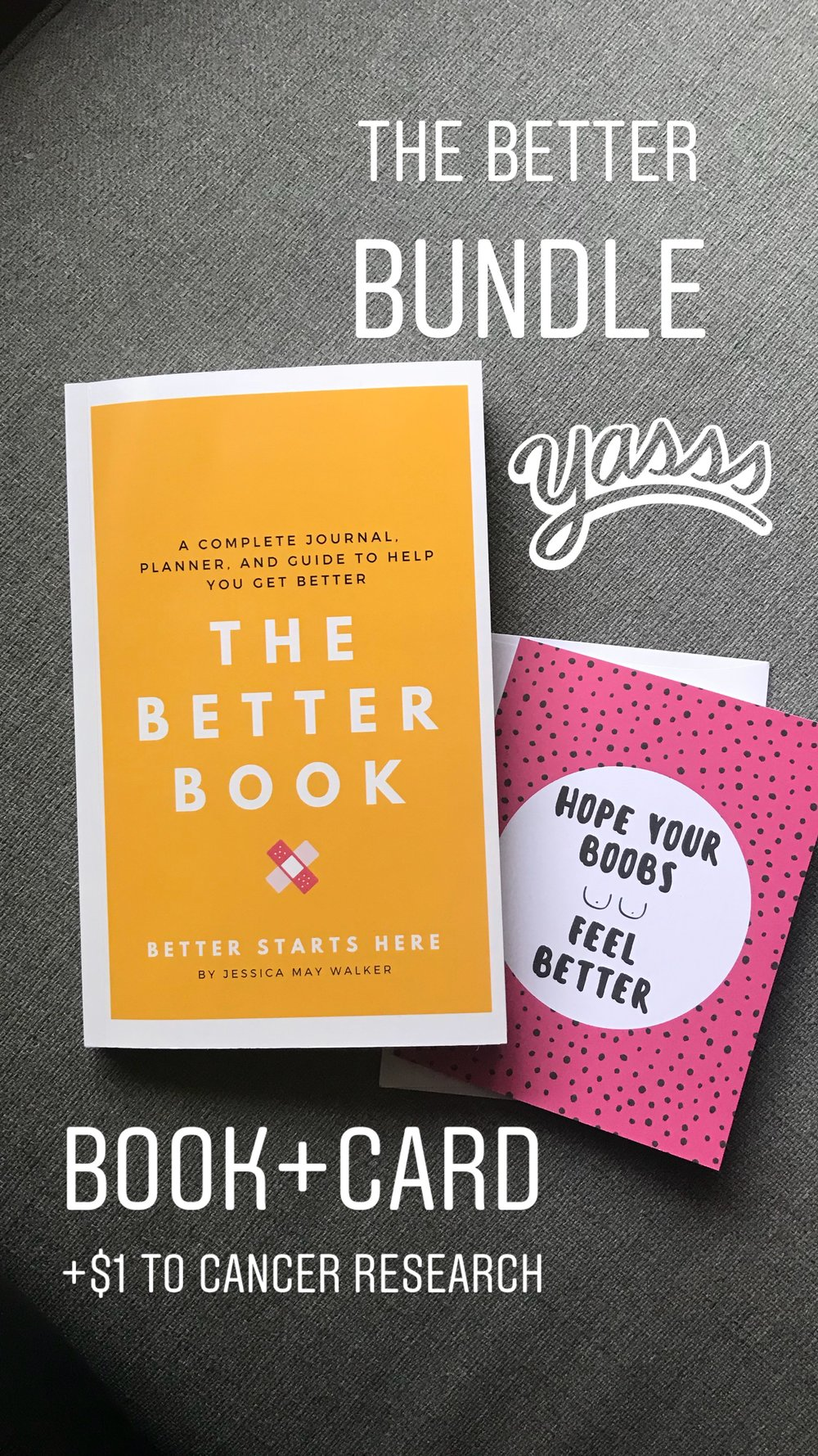 Want to send the perfect gift set? We even offer The Better Bundle which includes: - 1 Better Book1