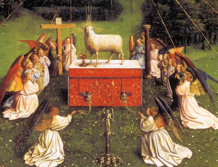 GhentAltarpiece Lamb -.jpg