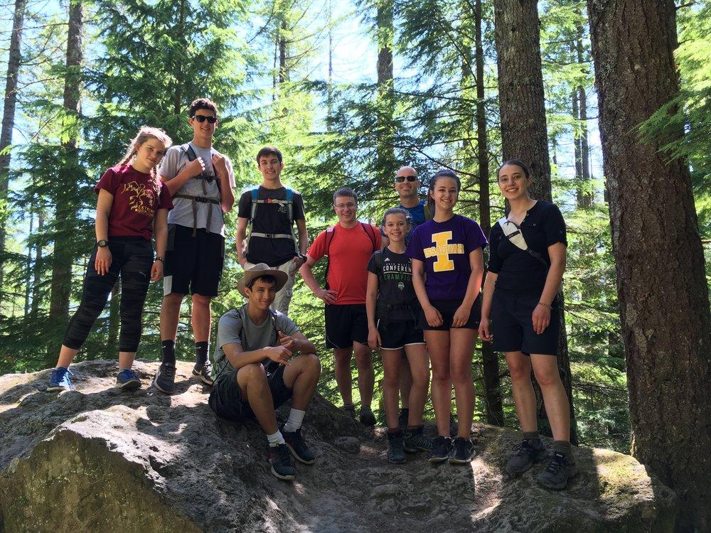Youth Group Hike.JPG