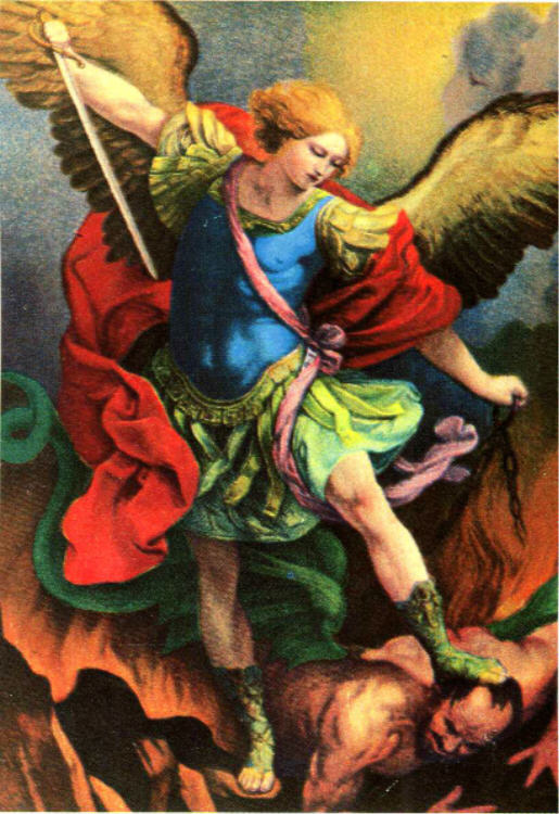 - St. Michael the Archangel, Pray for us!