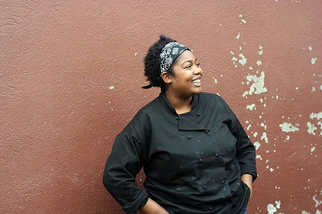 """Are you all excited for this Fat Tuesday pop-up on 3/5?  Chef Sakile AKA THE """"Cookie Queen"""" of @brownsugarcookiecompany is working hard developing her recipes to make sure your taste buds will be satisfied! What are you most excited about? The Sweet Potato Beignets or the Truffle fried okra? :)"""