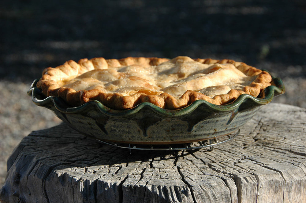 "Pie Plate - 10"" Diameter, 2.5"" Height (Pie not included)"