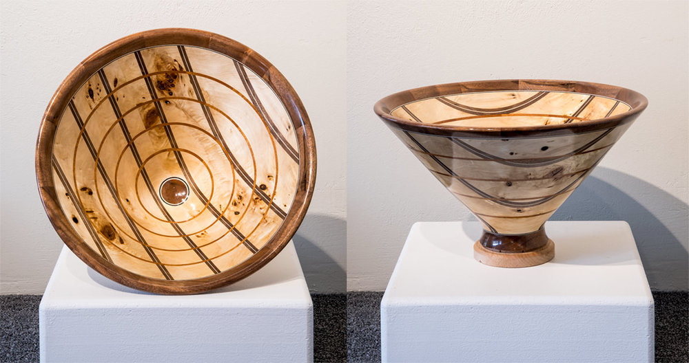 Wood Sculpture Bowl