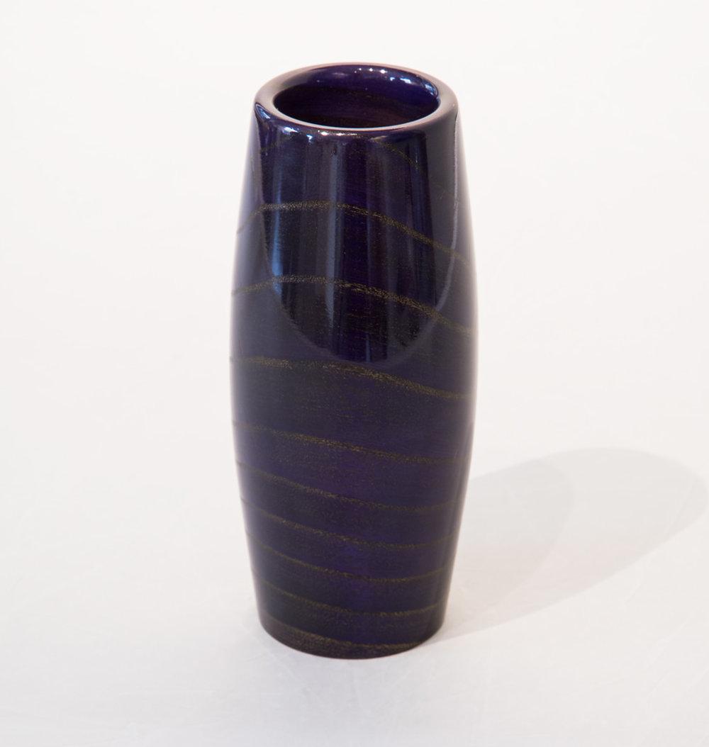 Wood Sculpture Vase