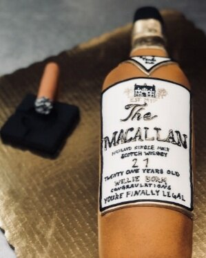 Scotch Bottle Cake