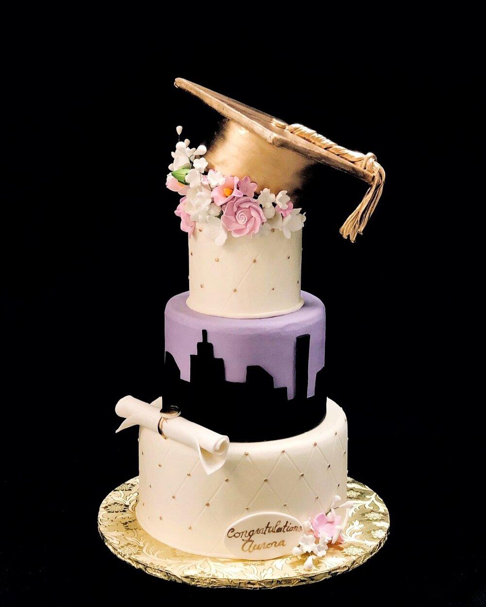 Big City Grad Cake
