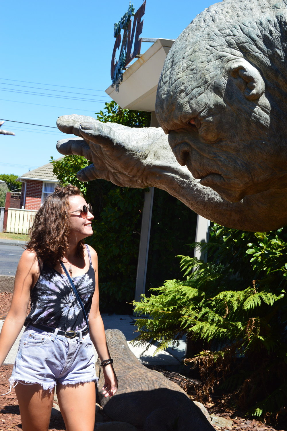 Outside the WETA Cave