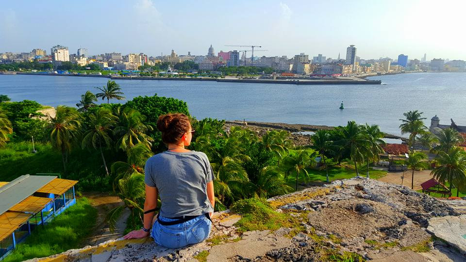 Gazing over to Havana from the Fort