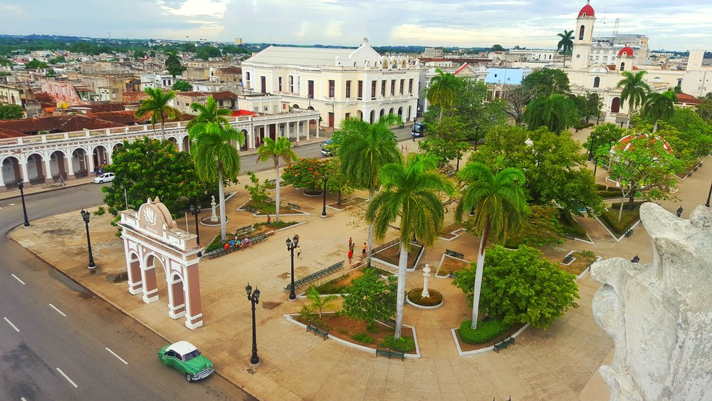 View over Cienfuegos from the Mirador Jose Ferrer viewpoint
