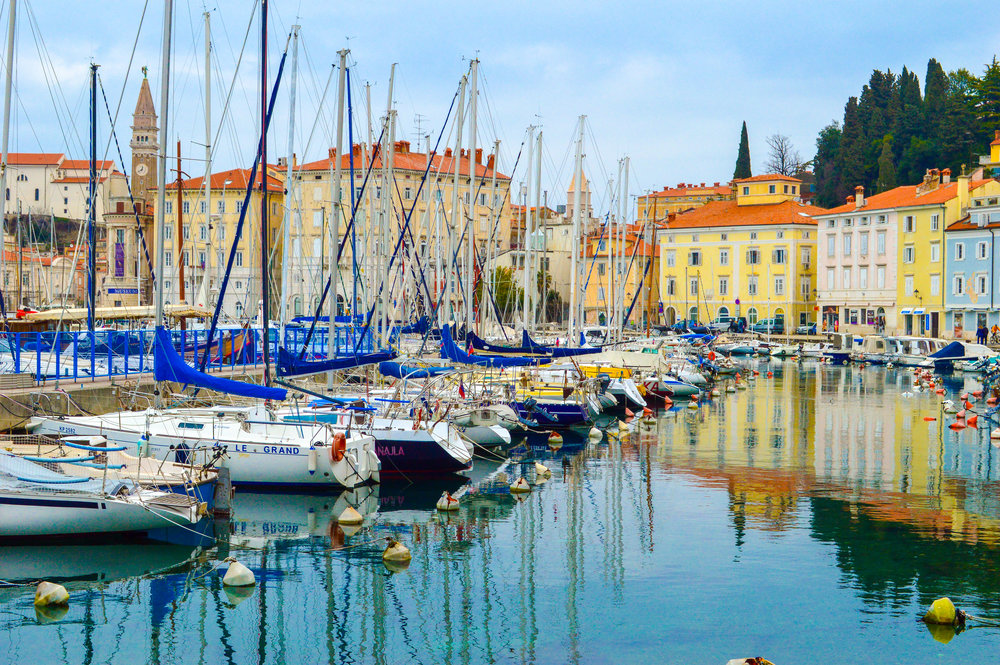 Who needs Italy when you have the gorgeous Mediterranean town of Piran anyway?