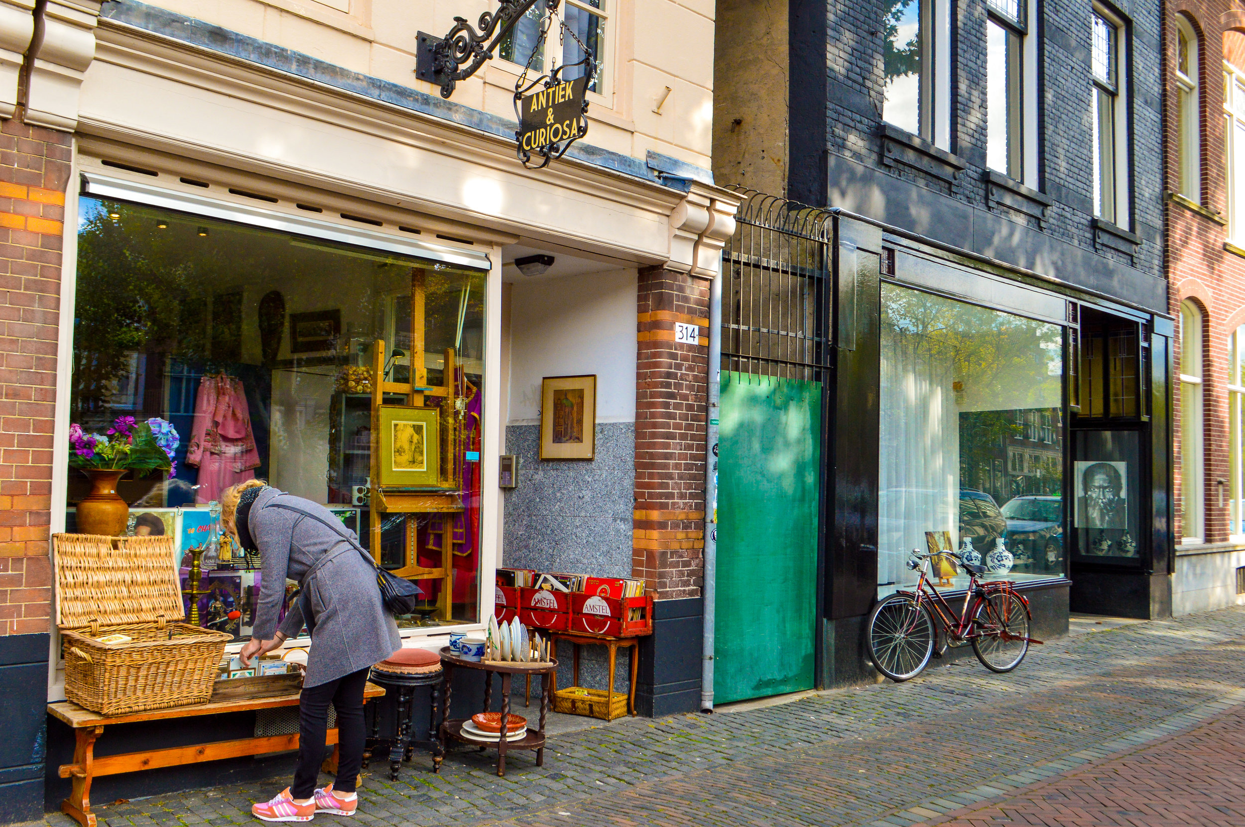 antique and vintage shops Utrecht