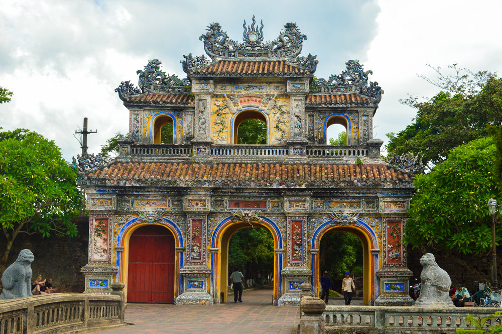 Exploring the ancient imperial city of Hue